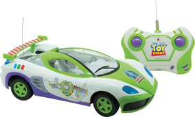 Carrinho Controle Remoto Toy Story Star Race 3funcoes Un