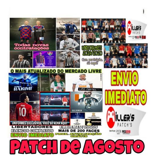 Patch Pes 2019 Ps4 Brasileirão Atualizado 2020 + Brinde
