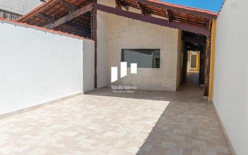 Imagem 1 de 15 de *casa Espaçosa Nova Em Campo Da Aviação Praia Grande S/p Aceita Financiamento Bancário.