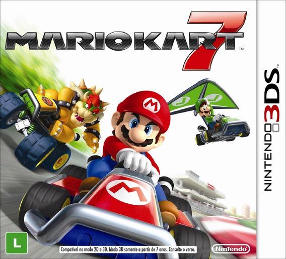 Mario Kart 7 - Nintendo 3ds! Semi Novo! M. Física!