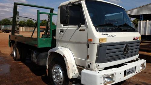 Caminhão Vw 12.140 Turbo Poliguindaste Duplo