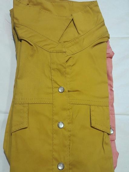 Camisa Oficina Dama Manga Larga