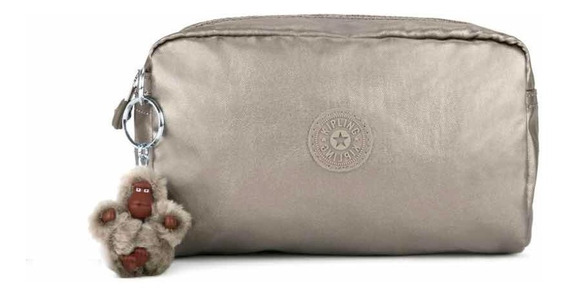 Kipling Cosmetiquera Lapicera Original Gleam Pewter