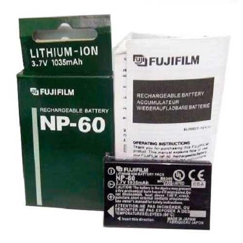 Bateria Np-60 Fuji Film Finepix 50i 601 F401 F410 F601 M603