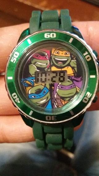 Reloj De Las Tortugas Ninja Disponible Ss