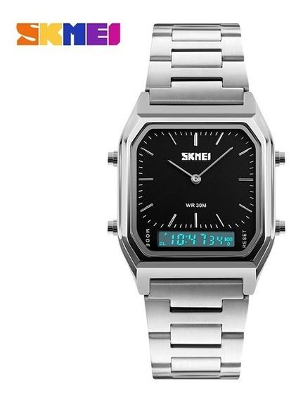 Skmei 1220 Dual Tempo Exibição Moda Unisex Relógio Com El Ba