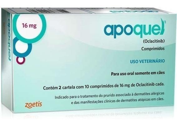 Apoquel Dermatológico Anti Coceira Cães 16mg