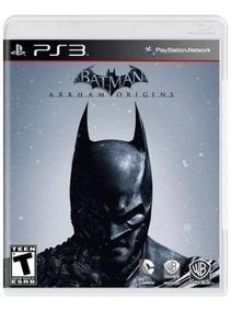 Batman Arkham Origins Ps3 Playstation 3 Original Frete R$12