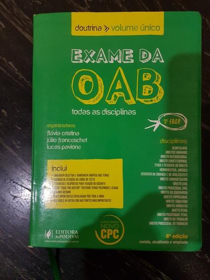 Livro Exame Da Oab Juspodivm
