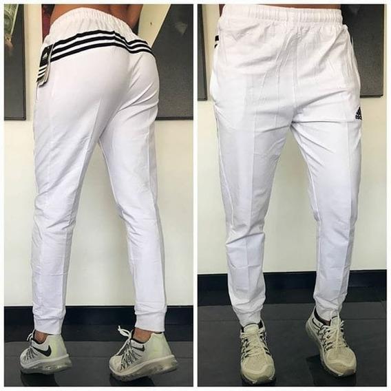 Pantalon Sudadera Jogger adidas Original 3 Lineas
