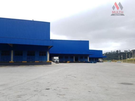 Galpão Para Alugar, 2459 M² Por R$ 44.262/mês - Centro - Cajamar/sp - Ga0411