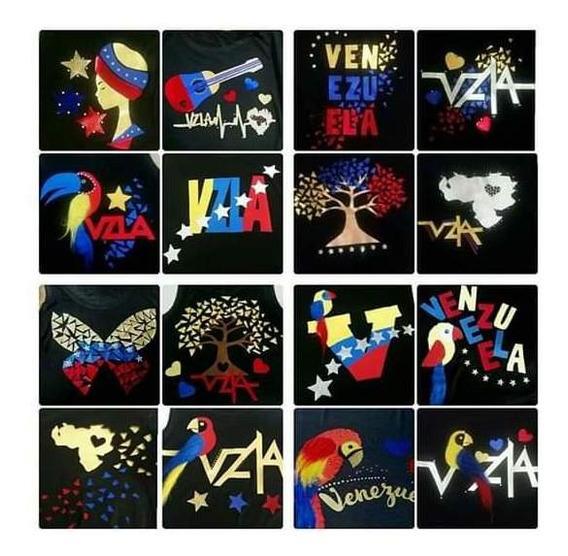 Camisas Y Franelas De Venezuela Para Damas Y Niñas