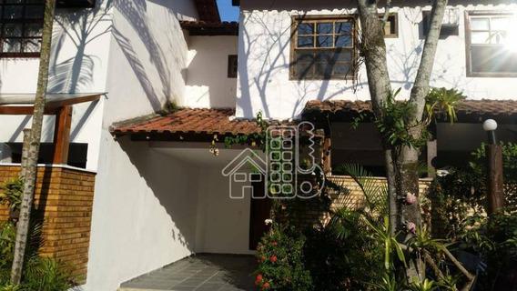 Casa Com 2 Dormitórios Para Alugar, 71 M² Por R$ 1.000/mês - Serra Grande/ Itaipu - Niterói/rj - Ca1070