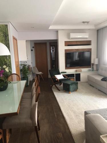 Apartamento 3 Dormitórios Com Duas Vagas Na Vila Gumercindo - 17125