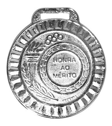 Kit 300 Medalhas 35mm Honra De Mérito Ouro Prata Bronze