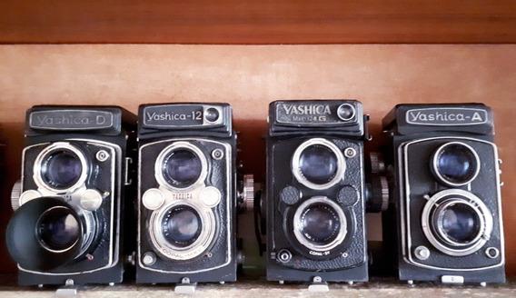 Lote Com 04 Yashicas