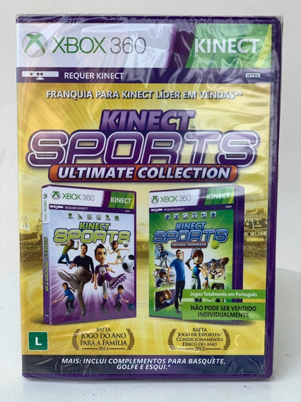 Jogo Kinect Sports Ultimate Collection Novo/ Português Xbox