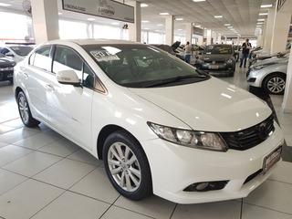 Honda Civic Lxr 2.0 Automatico 2014 Branco