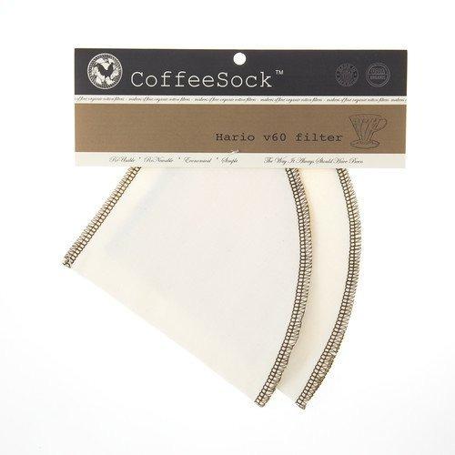 Coffeesock Hario V60 03 Estilo Gots Certificado Algodón Or