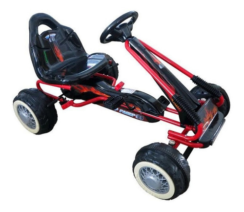 Automóvil Para Niños Go Kart Skeleton