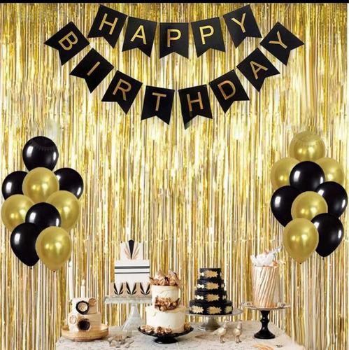 Kit Decoración Cumpleaños Sencillo En Casa Envío Hoy Mismo