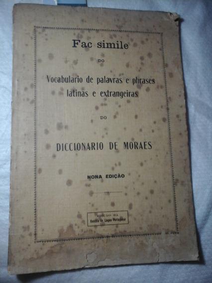 Diccionario De Moraes Phrases Latinas E Extrangeiras