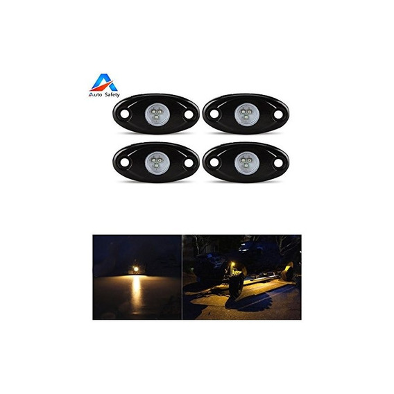 Auto Safety Led Rock Light Jeep Off-road Truck Boat Bajo Cue