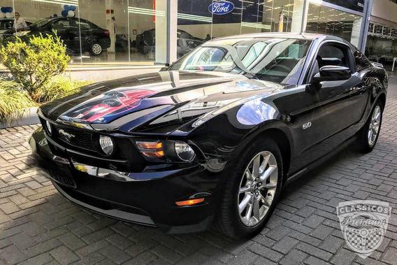 Ford Mustang Gt 5.0 V8 2011 Preto - Impecável - Premium