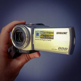 Filmadora Sony Dcr-sr47 Hd De 60gb Zoom Óptico 60x Tela 2.7