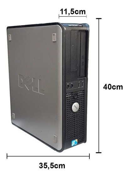 Dell Optiplex Core 2 Duo 8gb Ddr3 Hd 160gb Gravador Wifi