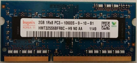 2x Pentes De Memoria Ram 2x2gb Notebook Hynix Hmt325s6bfr8c