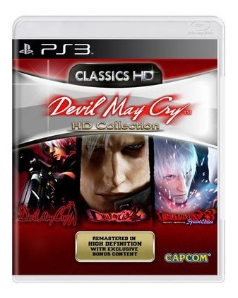 Jogo Devil May Cry Hd Collection - Ps3 Midia Fisica Lacrado