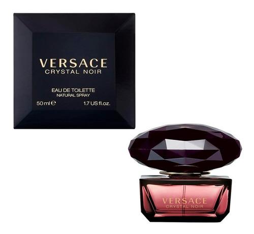 Perfume Versace Crystal Noir Edt 50ml Original Súper Oferta