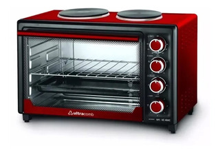 Horno Eléctrico Ultracomb 40 L. Doble Anafe Uc40ac