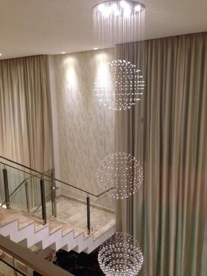Esfera Cristal P/vão Escada E Pé Direito Alto Ou Duplo G360