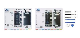 Mapa Guía Organizador Magnético Tornillos iPhone 6s 6s Plus