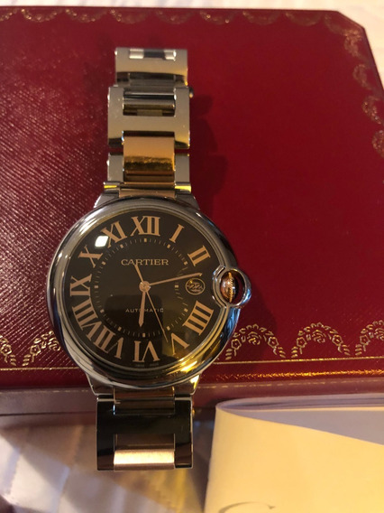 Relogio Cartier Ouro Rose, Ballon , Excepcional Novo.
