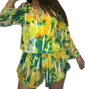Macaquinhos Feminina Minima Conjuntos Vestidos Verão 2019