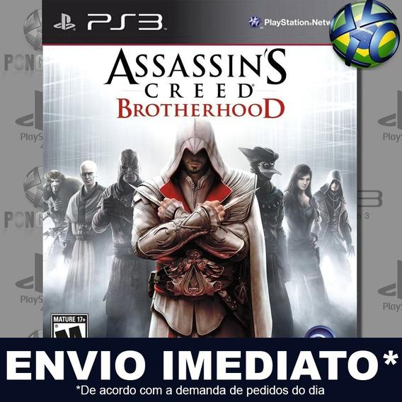 Assassins Creed Brotherhood Ps3 Psn Jogo Em Promoção