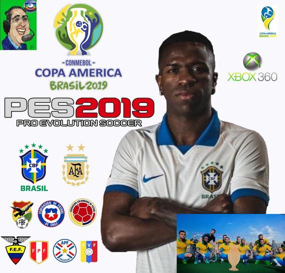 Patch Pes 2018 Xbox 360 Copa América 2019 Show !