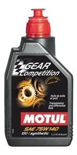Motul 75w140 Gear Competition 100% Sintético-1 Litro