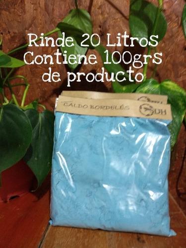 Fungicida De Amplio Espectro 100g Caldo Bordelés Rinde  20 L