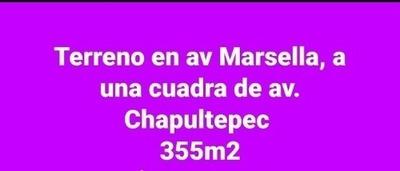 Terreno En Calle Marsella Entre Av. La Paz Y Lopez Cotilla