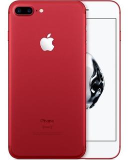 iPhone 7 Plus Original 32gb Red Edition Apple Libre De Fabrica Garantía Nuevo + Mica