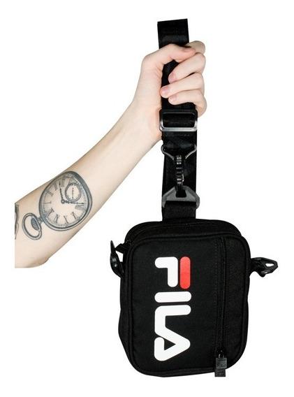 Pochete Shoulder Bag Fila Versatili Preta Original