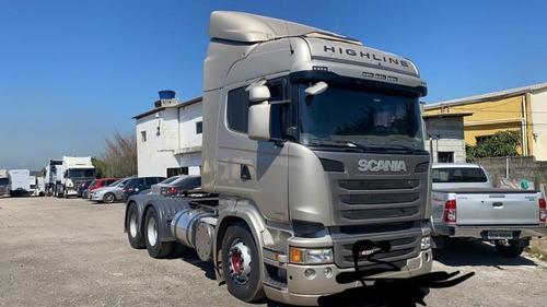 Scania R480 6x4 Higline Bx.km Financiamos /temos Carta Crédi