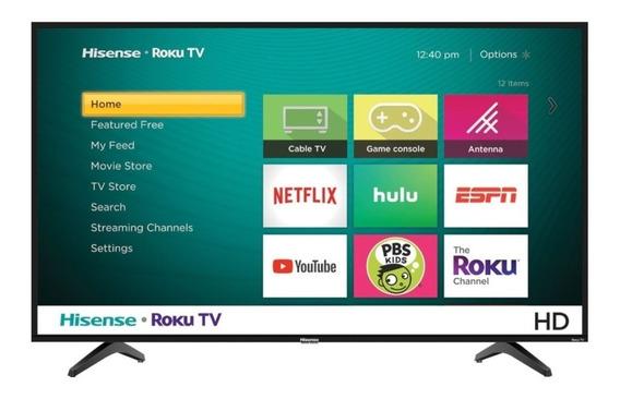 Televisor 32¨ Hisense Smart Roku Tv 200v Mod 32h4f Nuevo