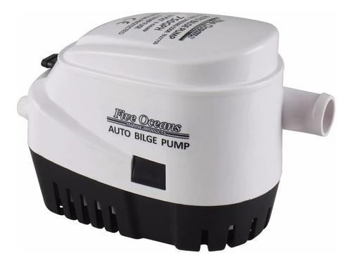 Bomba De Achique Eléctrica Automática 750gph 12v