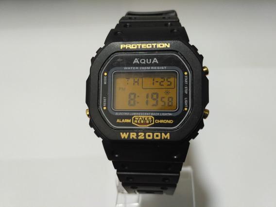 Relógio Original Aqua Waterproof A Prova Dagua Gp477 Mito