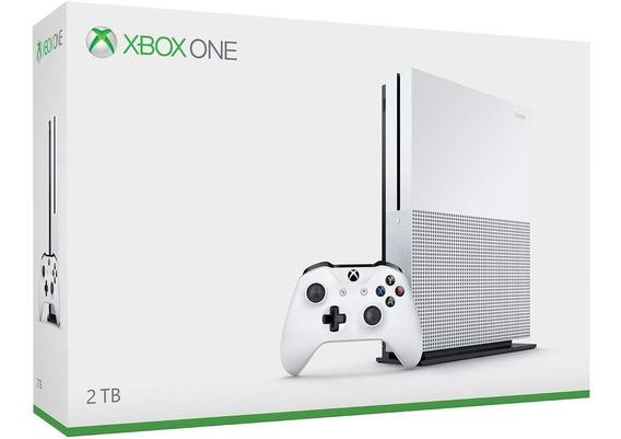 Xbox One S Branco 2tb